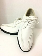 Footjoy Women's GreenJoy White Leather Golf Shoes - Size 8.5 M - $24.99