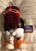 "1987 California Raisin Applause 6.5"" Poseable Bendable Plush  Orange Sun... - $19.76"