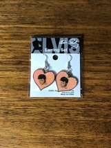 Elvis Presley Heart Shaped w/ Photo Earring Set Brand New Sealed in Pack... - $34.64