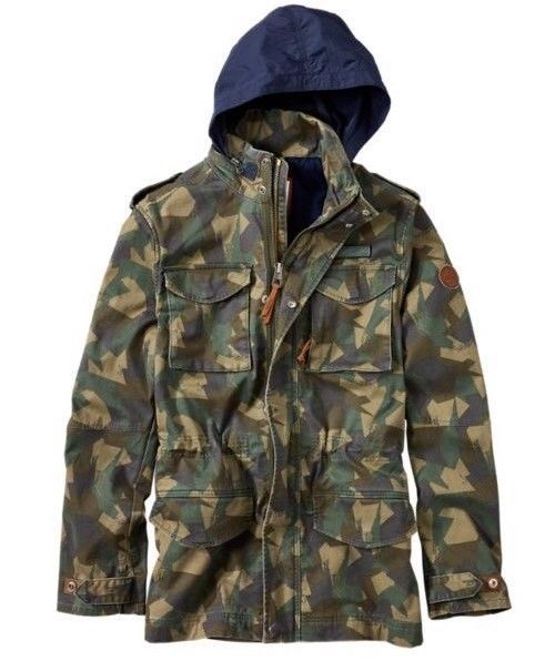 TIMBERLAND CROCKER MOUNTAIN M65 JACKET A1L2A SZ:L