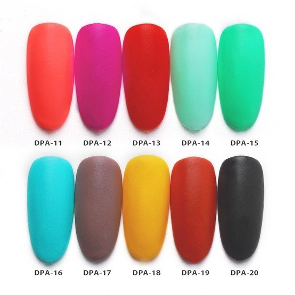 Matte Color Manicure Powder Nail Dipping Powder Nail Art Decorations  07 image 8