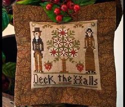 Deck The Halls Ornament 2011 Series #3 pattern Little House Needleworks - $5.40