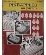 Vintage Pineapple Tablecloth Doily Mats Crochet Pattern Book - $5.99