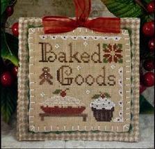 Baked Goods Ornament 2011 Series #7 pattern Little House Needleworks - $5.40