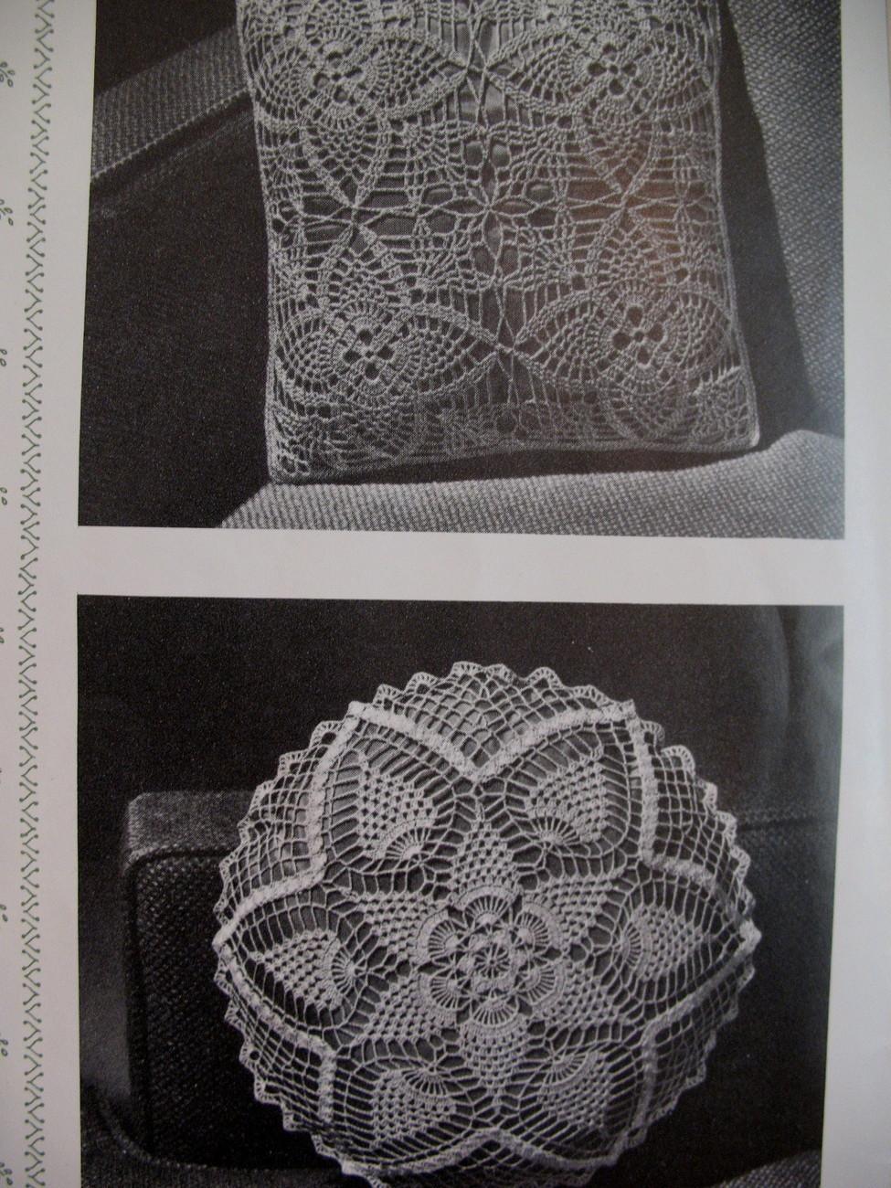 Vintage Pineapple Designs Crochet Pattern Booklet