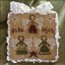 Hallelujah Ornament 2011 Series #8 pattern Little House Needleworks - $5.40