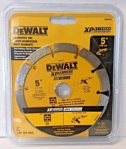 "Dewalt DW4741 5"" x .250 XP Segmented Rim Diamond Tuck Point Blade 7/8"" Arbor - $17.82"