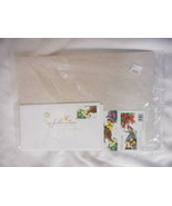 Pollination Booklet pane of 20 with 4 stamped Enve U S Stamps Original P... - $13.14