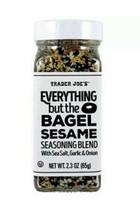 Trader Joe's Everything But The Bagel Sesame Seasoning Blend 2.3oz-65g Jar - $9.49