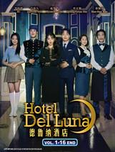 Korean Drama Hotel Del Luna Vol.1-16 End Korean Drama DVD Eng Sub Ship From USA