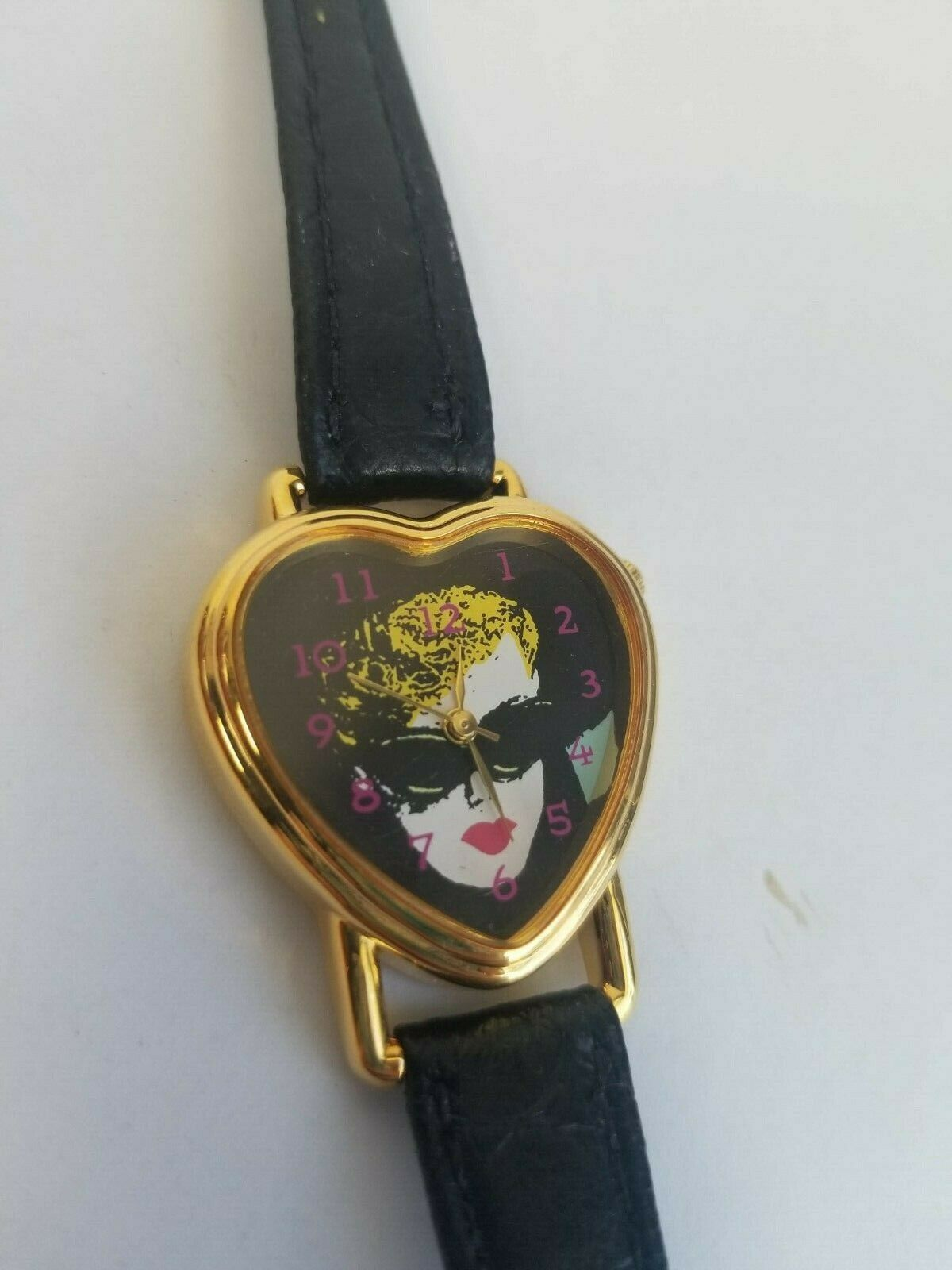 Primary image for Barbie 1993 Nostalgic Icon Heart Shaped Watch in Tin
