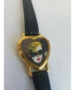 Barbie 1993 Nostalgic Icon Heart Shaped Watch in Tin - $17.77