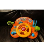 V-Tech Turn and Learn Driver Toy - Animals, Numbers, Vehicles - $6.93
