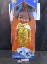 """Disney Store Authentic Kenya Animator's Collection 16"""" Doll Small World ... - $74.99"""