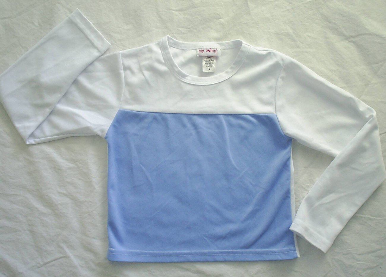 MY TWINN Doll Sporty Blue Shirt Top Girl Medium M 10 12