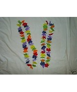 Hawaiian Lei Leis Flower Halloween Costume Hula Girl - $1.99