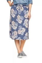 GAP Women's Skirt Floral Print Full Skirt  Size: Medium $45. 100%Polyest... - $18.28