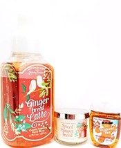 Bath and Body Works Gingerbread latte Hand Soap, Mini Candle, PocketBac - $20.22