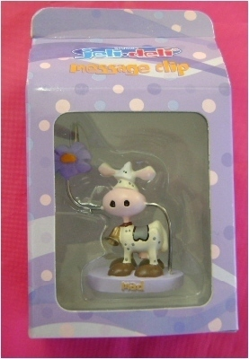 Message Clip for your desk. Moo-rific