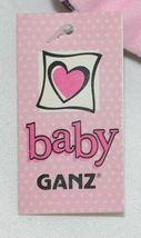 Baby Ganz Brand BG3192 Pink Black Zebra Print Ooh La La Plush Elephant image 8