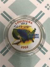 2002 D Louisiana Enameled State Quarter *FREE SHIPPING* - $3.92