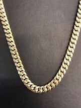 "10K Yellow Gold Hollow 10mm Miami Cuban Link Chain Necklace 26"" - $2,316.60"