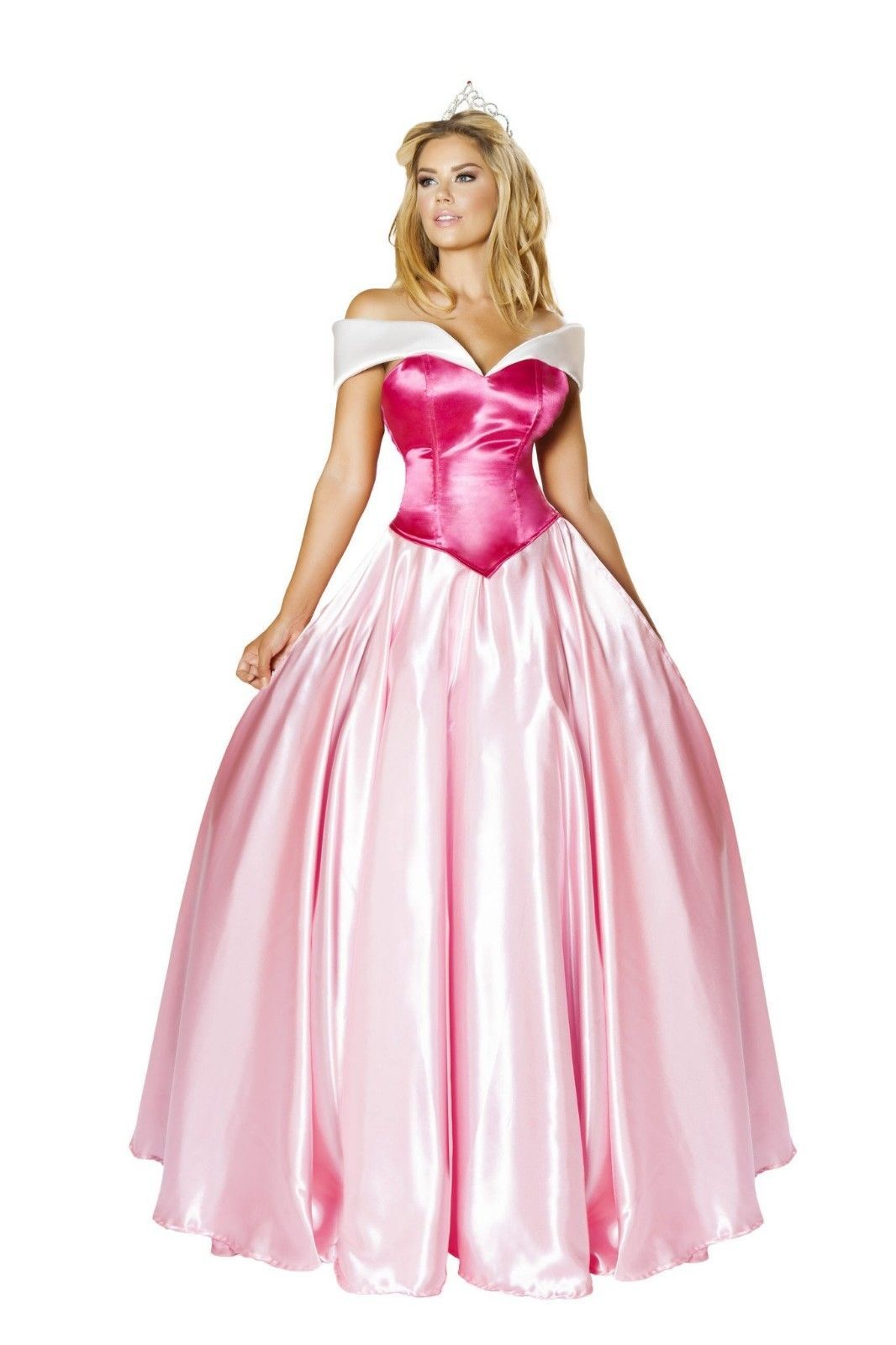 Roma Beautiful Princess Pink Gown Deluxe Fairytale Costume 4733