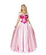 Roma Beautiful Princess Pink Gown Deluxe Fairytale Costume 4733 - $94.99