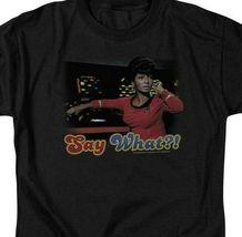 Star Trek Uhura T-shirt original cast member retro Sci-Fi graphic tee CBS208 image 3