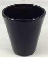 Libbey Shot Glass All Black Whiskey Barware 1.5 Ounce Toothpick Holder F... - $12.81