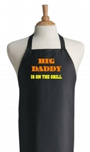 Big Daddy Is On The Grill Black BBQ Aprons For ... - $14.80