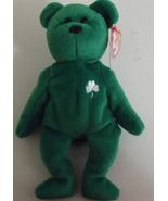 Ty Beanie Babies NWT Erin the Green Bear Retired - $9.95