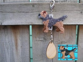 Border Terrier dog crate tag or home decor hand... - $14.00