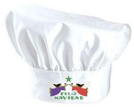 Feliz Navidad Chef Hat For The Holidays | Spani... - $9.85