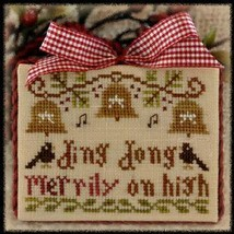 Ding Dong Merrily On High Ornament 2012 Series #5 chart Little House Nee... - $5.40