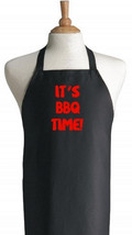 It's BBQ Time! Funny Barbecue Aprons For Outdoor Cooking and Grilling - $14.80