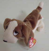 Ty Beanie Babies NWT Tracker the Basset Hound Dog Retired - $9.95
