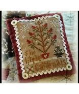 Six Little Cardinals Ornament 2012 Series #6 chart Little House Needleworks - $5.40