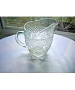 Cris D'Arques Antique Pattern Clear Crystal Creamer - $4.95