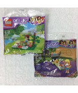 2 Lego Friends 30108 30399 Polybags Mia Picnic Stephanie Easter Basket F... - $14.69
