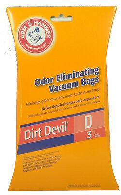 Primary image for Dirt Devil Type D Vacuum Cleaner Bags 62593