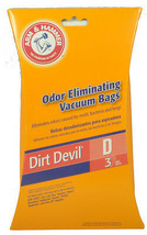 Dirt Devil Type D Vacuum Cleaner Bags 62593 - $4.68