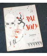 Pal Joey Melodyland program Yvonne DeCarlo Munsters - $13.99
