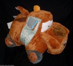 "18"" DISNEY PILLOW PETS TOW TRUCK MATER CARS 2 FOLDING STUFFED ANIMAL PLU... - $23.38"