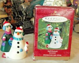 Hallmark Shoe Box Maxine Self Portrait Ornament - $14.03