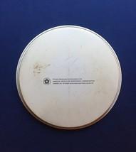"""Vintage 70s 1776-1976 bicentennial round metal 11"""" tray image 4"""