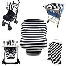 Multi-Use Stretchy Stroller Car Seat Cart Cover Nursing Scarf Breastfeedi - $23.00