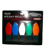Fine Life Products Christmas Light Holiday Reflective Car Magnets 10 Pie... - $9.95