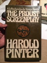 Harold Pinter - Proust Screenplay 1977 1st edition - $83.30