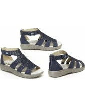 JBU BY JAMBU TORRY GLADIATORY SANDALS NIB SIZE 8.5M BLUE - £33.73 GBP